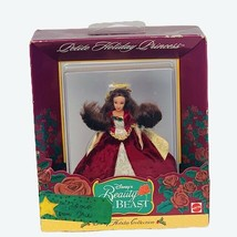 Walt Disney Christmas ornament Belle Beauty Beast Petite Holiday Princes... - $19.25