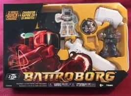 NEW - Tomy Battroborg Remote Controlled RC Battling Robots - Purple Robo... - $17.63
