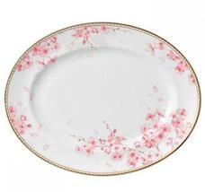 "Wedgwood Spring Blossom Oval Serving Platter Made in UK 13.75"" NEW - $274.90"