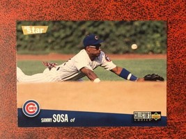 1996 Upper Deck Collector's Choice #490 Sammy Sosa Chicago Cubs Baseball... - $0.99