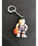 Keychain Denver Nuggets Basketball Figure NBA Fan Souvenir Blue Jersey S... - $4.26