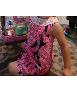 Lilly Pulitzer Baby Girl Toddler Shift Dress In Coco Safari  Size 2 - $44.55