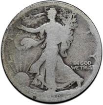 1916 Walking Liberty Half Dollar 90% Silver Coin Lot# A 405