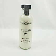 SCOTTISH FINE SOAPS COMPANY Au Lait Body Milk 7.8oz Sealed - $22.45