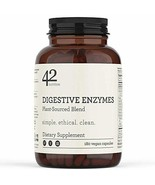 42Nutrition Digestive Enzymes Dietary Supplement - 180 Plant-Based Blend... - $46.32