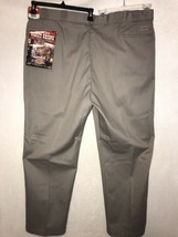 Dickies Mens 50 X 32 Original Fit Heavy Duty Work Pants Taupe Style 874 D NEW - $24.99