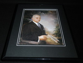 President Harry S Truman Framed 11x14 Photo Display - $34.64