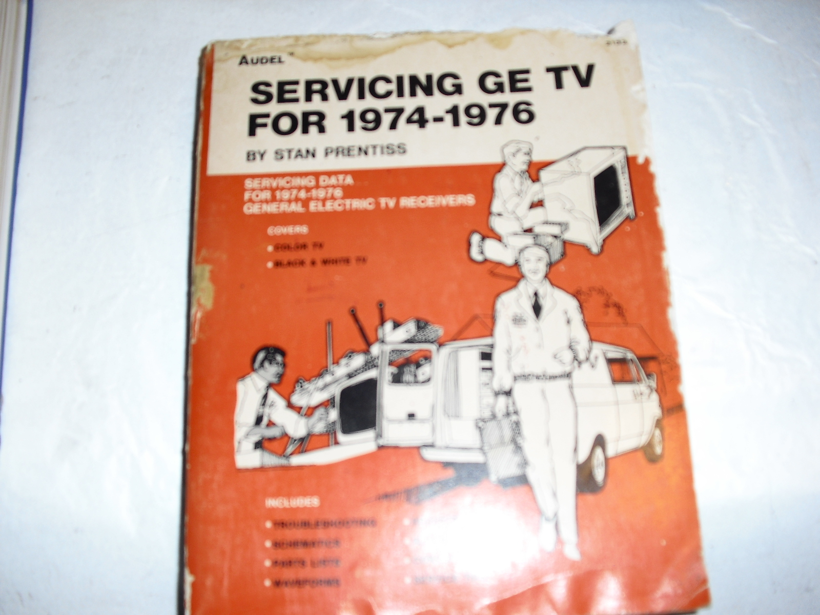 servicing  ge  tv  for  1974-1976