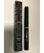 Smashbox Brow Tech To Go Crayon  & Gel - Double Ended ~DARK BROWN - $13.35