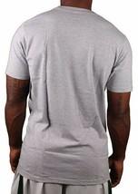 Omit Hommes Basique Gris Bruyère Joker Violet Logo T-Shirt Nwt