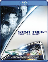 Star Trek 8-First Contact (Blu Ray)