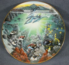 Honolua Bay Of Piilani Underwater Paradise Collector Plate Robert Lyn Ne... - $17.75