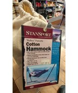 STANSPORT BALBOA PACKABLE COTTON HAMMOCK in Solid Beige Tone - $26.05