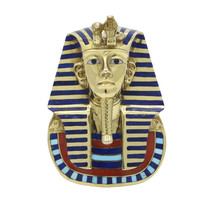 GETCO Egyptian King Tut Statement Pendant in 14k Yellow Gold 1977 - $6,615.00