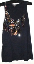Women's Navy Blue Sparkle Tank Size S/P - $9.00