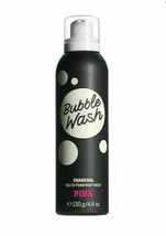 Victoria's Secret PINK Bubble Wash Charcoal Gel-To-Foam Body Wash 4.7 fl oz New - $13.75