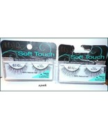 NEW X2 Ardell Soft Touch Natural Hair Eyelashes  #160 Black  FREE SHIP +... - $7.25