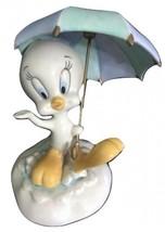 LENOX TWEETY BIRD SPLISH SPLASH UMBRELLA  FIGURINE NIB - $84.14