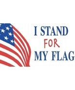 I Stand Up For My Flag - USA - Magnet - $7.99