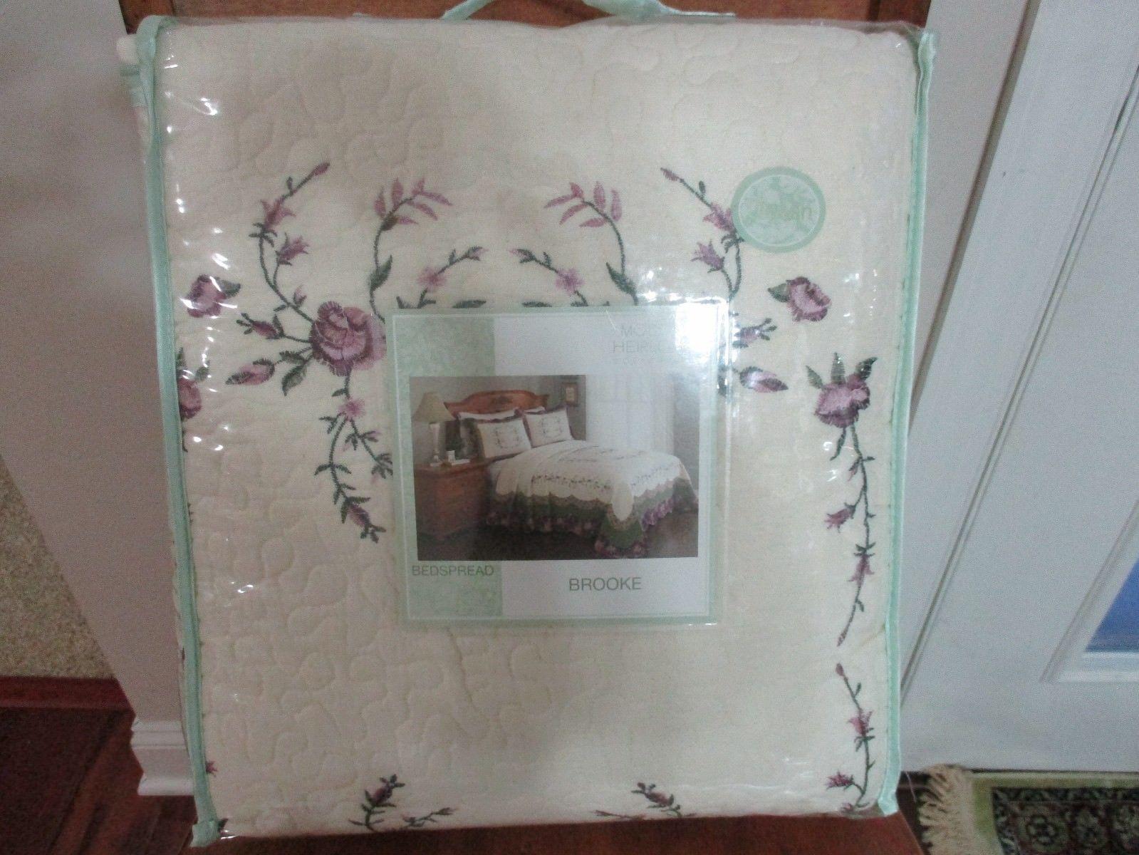 BNIP Modern Heirloom Collection Brooke Cotton Filled Bedspread OR Shams, Pick - $108.90 - $113.85