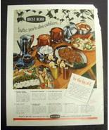 Vintage 1953 Magazine Print Ad - WEST BEND Appliances & Serving Ware - $10.00