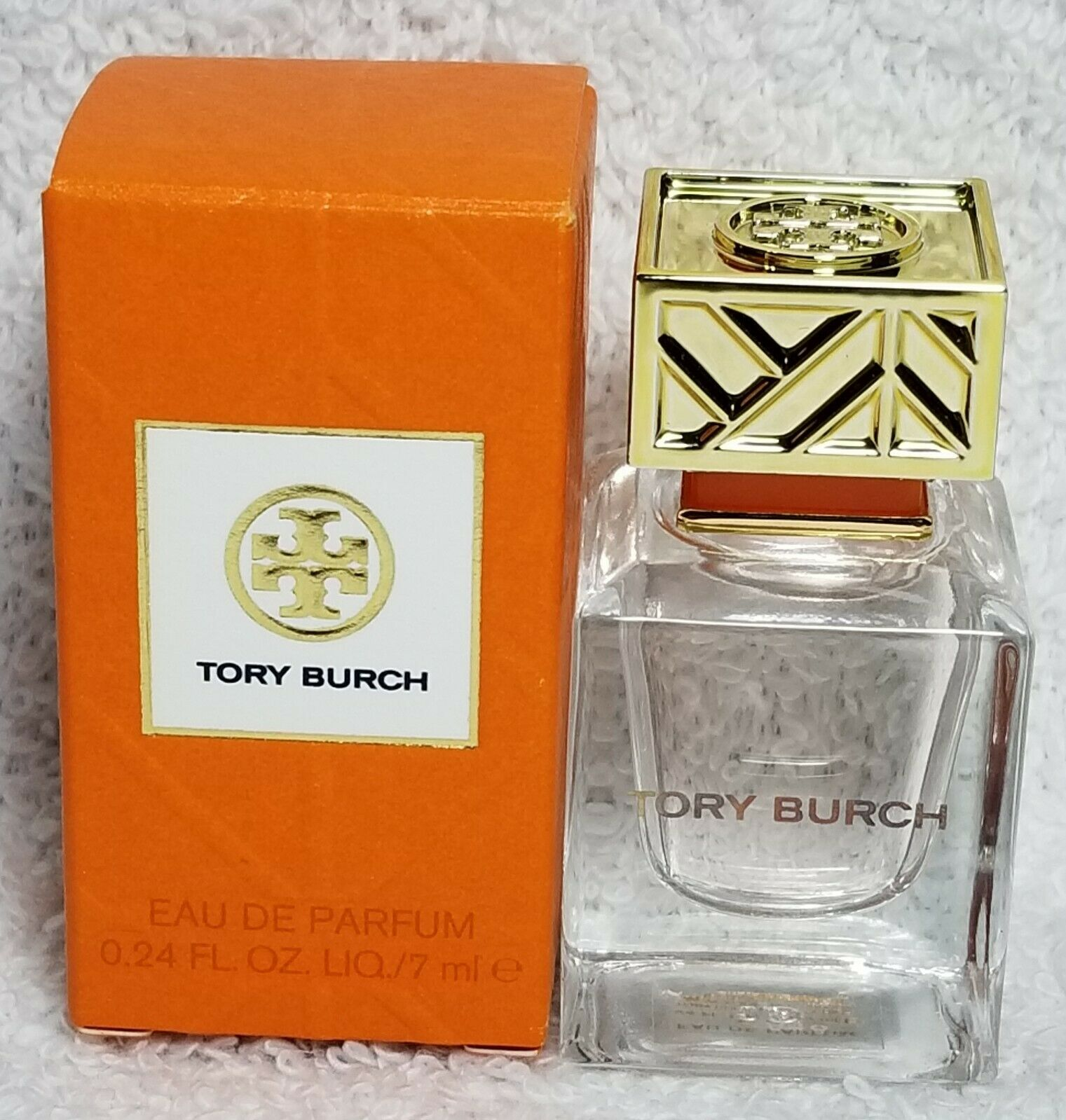 Primary image for Tory Burch TORY BURCH Eau De Parfum EDP Splash Orange Women Mini .24 oz/7mL New