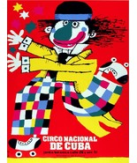 Decoration interior design Poster.Decor movie art.Cuba Circus Clown.4314 - $9.90+