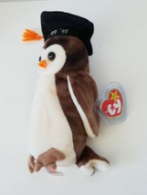 Ty Beanie Baby Wise The Owl Class of 1998 - $7.27
