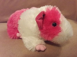 """TY CLASSIC PINKY the Pink White GUINEA PIG Plush 11"""" 2011 - $14.95"""