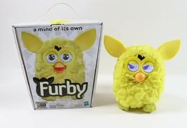 "Hasbro 2012 FURBY ""A Mind of its Own "" Yellow HTF w/ Box - $34.19"