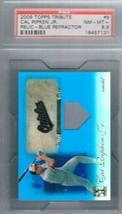 2009 Tribute Relics Blue #9 Cal Ripken Jr. Orioles  PSA 8.5 NM MT+ - $79.15