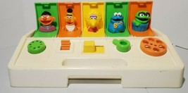 Vintage 1980 Playskool Busy Poppin' Pals Pop Up Toy Sesame Street Baby Learning - $24.70