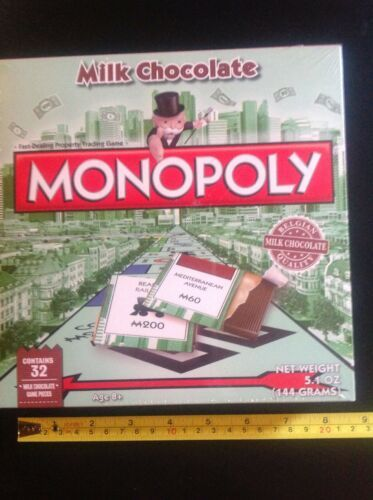Primary image for NEW Monopoly Candy Game Limited Edition Chocolate Sealed Expires 12/19