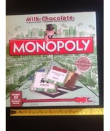 NEW Monopoly Candy Game Limited Edition Chocolate Sealed Expires 12/19  - $9.90