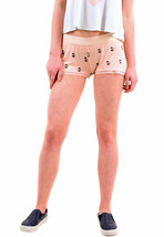 Wildfox Mujer NBW Authentic French Press Sleep Short Peach Keen S RRP € - $24.34