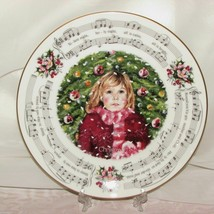 ROYAL DOULTON CHRISTMAS CAROLS COLLECTOR DISPLAY PLATE SILENT NIGHT 1983... - $19.99