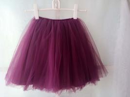 PLUM PURPLE flower girl Mini Tutu Skirt Baby Tutu Skirts Many colors NWT image 2