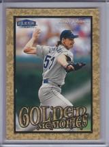 RANDY JOHNSON 1999 Fleer Tradition Golden Memories #GM-7  (C7499) - $3.15