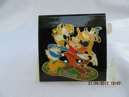 WDW  2002 MAGICAL MUSICAL MOMENTS-FUN AND FANCY FREE PIN - $8.00