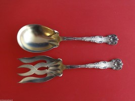 "Victoria by Dominick & Haff Sterling Silver Salad Serving Set 2pc GW 8 7/8"" - $274.55"