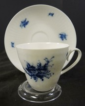 """Six Rosenthal 2 7/8"""" Tall Cups and Saucers * Continental Rhapsody Pattern - $37.99"""