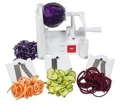 Paderno World Cuisine A4982799 Spiralizer Tri-Blade Vegetable Spiral Slicer - €22,19 EUR