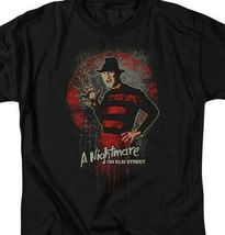 A Nightmare On Elm Street t-shirt Freddy Krueger horror graphic tee WBM551 image 3