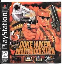 Duke Nukem: Time to Kill (Sony PlayStation 1, 1... - $10.00