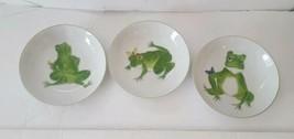 Frolicking Frogs Soup Bowls Set of 3 by Taste Seller Sigma Japan - $49.49