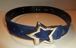 L03 ESCADA Womens Designer Star Studded Belt Sz... - $98.99
