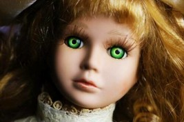HAUNTED DOLL: DARBY! GENUINE HAUNTED EXPERIENCE! WATCHES YOU! SERIOUS AC... - $249.99