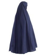 1 piece Cotton Navey Blue Full Length Long Khimar - $14.89
