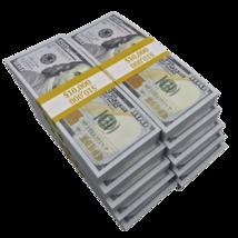 $100,000 - $100 Full Print Bills Play Poker Game Joke Prank Music Video Fake  - $129.99