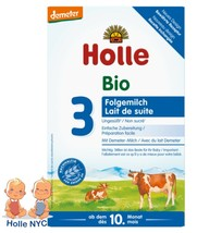 Holle Stage 3 Organic Infant Formula with DHA 600g Free Shipping - $28.95